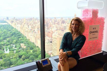 Biuro Chanel w Nowym Jorku fot. Urszula Wiszowata