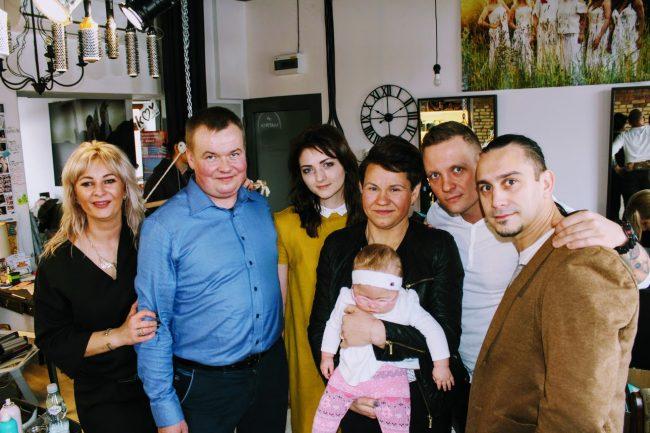 Podlascy Aniołowie i Wiktoria z rodzicami, fot. Lidia Dobrowolska