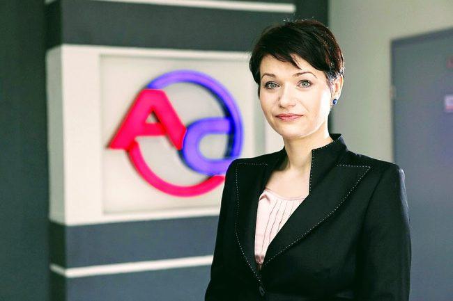 """Katarzyna Rutkowska, prezes AC S.A., jedna z prelegentek spotkania """"Przedsiębiorcza w działaniu"""", fot. AC S.A."""