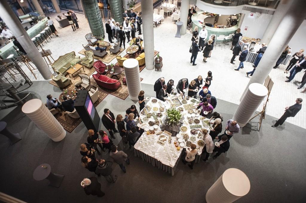 Restauracja Forma to także dobre miejsce na biznes lunch w większym gronie, o którym opowiadał Lechosław Chalecki, fot. Restauracja Forma