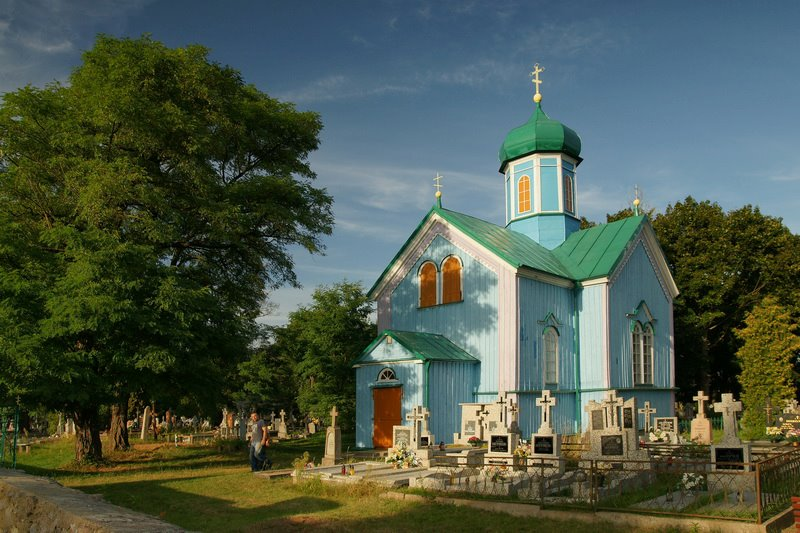Cerkiew w Rybołach, fot. Paweł Tadejko, Magia Podlasia