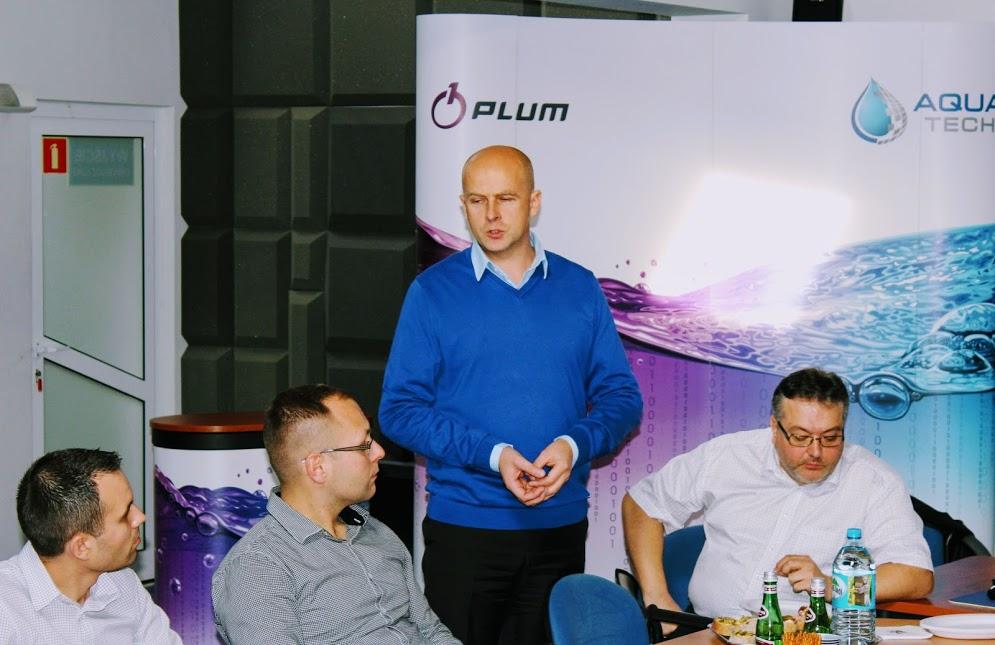 Mariusz Sawicki - Plum podczas szkolenia, które prowadził Piotr Tuz - Aqua Tech, fot. Lidia Dobrowolska