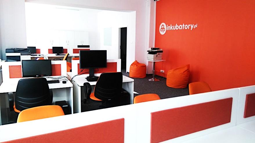 Biuro coworkingowe w AIP Białystok, fot. AIP Białystok