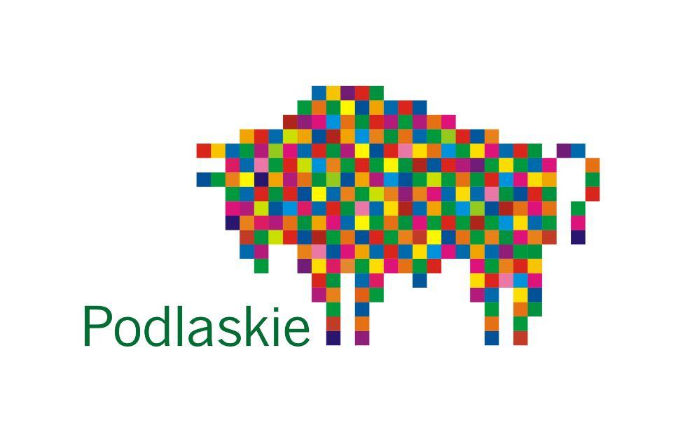 Oficjalny symbol Województwa Podlaskiego stworzony przez jednego z najbardziej utytułowanych i najdroższych polskich artystów - Leona Tarasewicza
