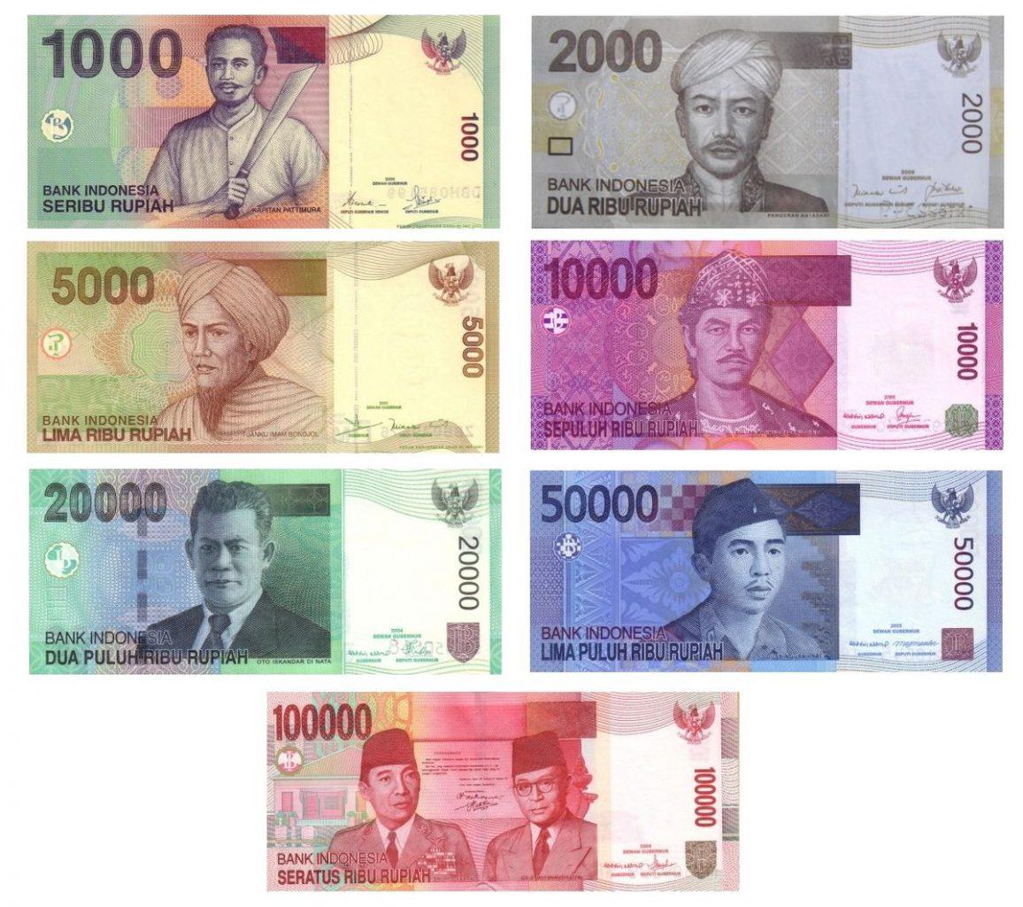 Indonezyjska rupia fot. Wikipedia