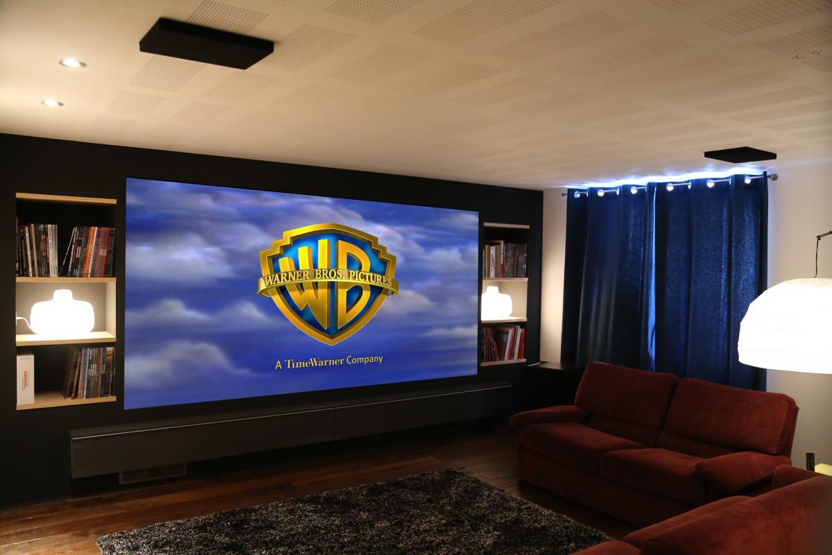 Ekran Projekcyjny Do Domu Przedsiębiorcze Podlasie