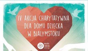 IV akcja charytatywna dla Domu Dziecka nr 2 w Białymstoku!