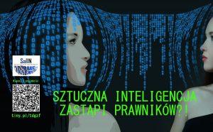 Czy sztuczna inteligencja zastąpi prawników? Porozmawiajmy o tym