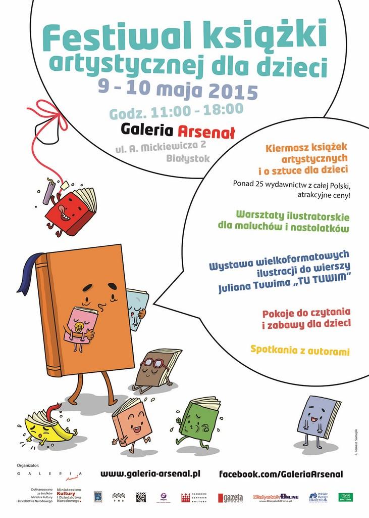 festiwal ksiazki artystycznej dla dzieci 1