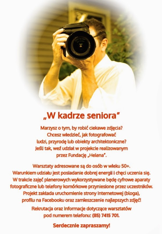 plakat W kadrze Seniora