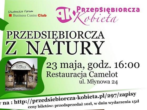 plakat przedsiebiorcza z natury